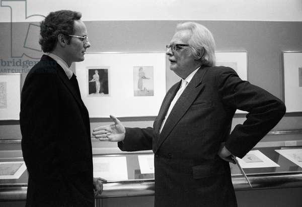 Switzerland Culture Felix Klee, 1973 (b/w photo)