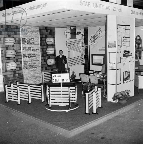 Switzerland Basel Pattern Fair 1967, 1967 (b/w photo)