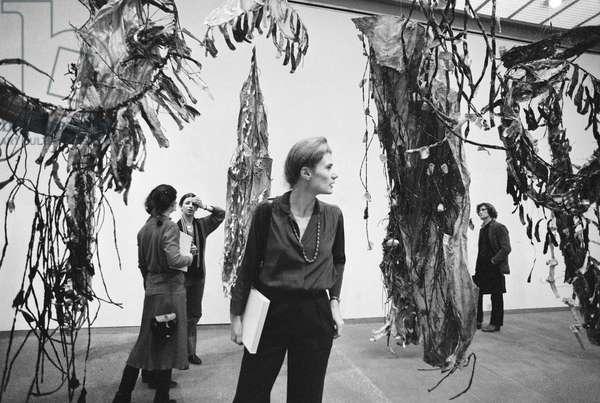 Switzerland Art House Zurich, 1979 (b/w photo)