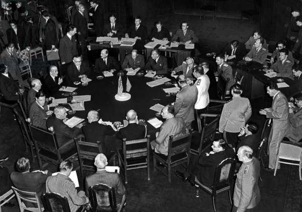 La conference de Potsdam