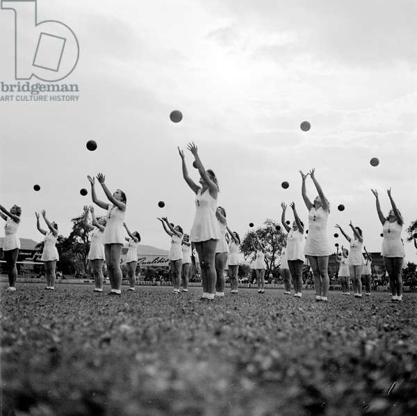 Switzerland World War Ii National Socialist Sports Festival, 1941 (b/w photo)