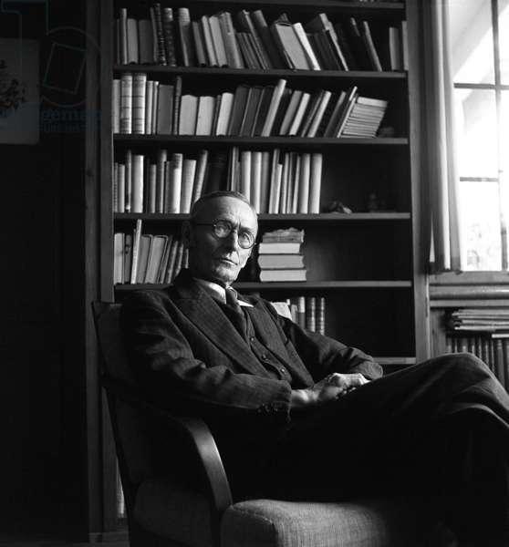 Switzerland Hermann Hesse Literature (b/w photo)