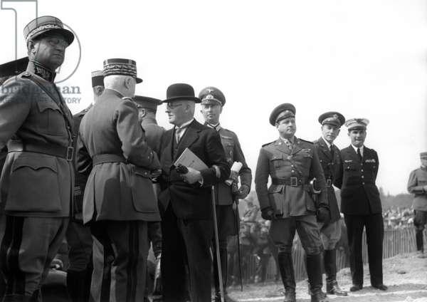 Switzerland Borel Petain, 1937 (b/w photo)