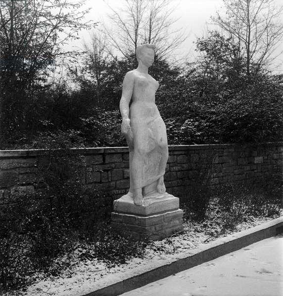 Switzerland Culture Otto Bänninger, 1945 (b/w photo)