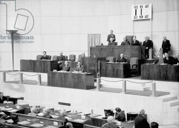 Switzerland League Of Nations (b/w photo)
