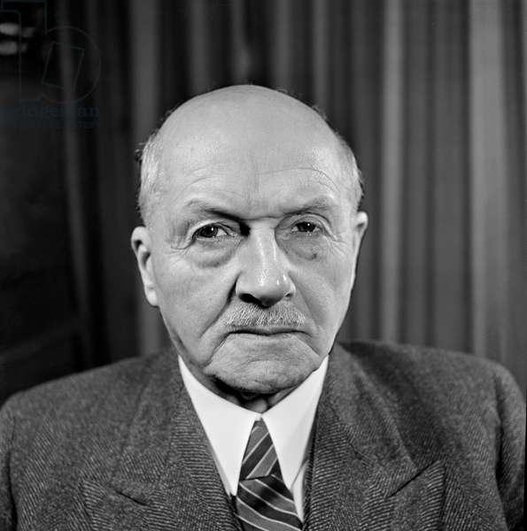 Switzerland Federal Albert Meyer, 1945 (b/w photo)