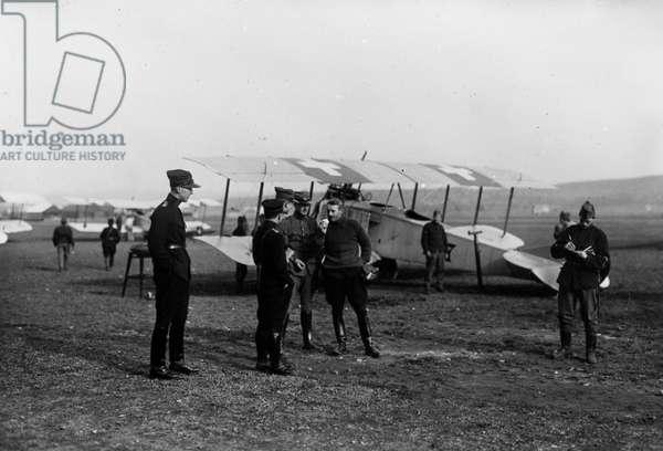 Switzerland World War I, 1916 (b/w photo)