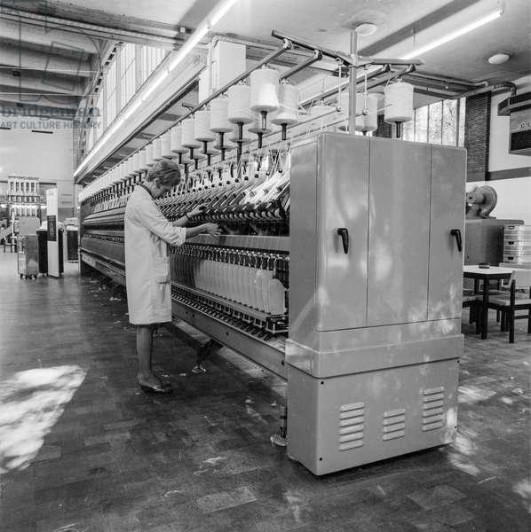 Switzerland Rieter Machine Factory, 1967 (b/w photo)