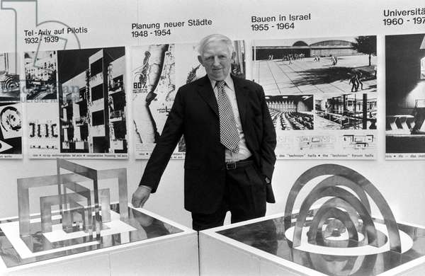Switzerland Zurich Kibbutz And Bauhaus, 1977 (b/w photo)