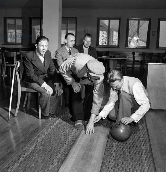 Switzerland Machinery Industry Bbc, 1955 (b/w photo)