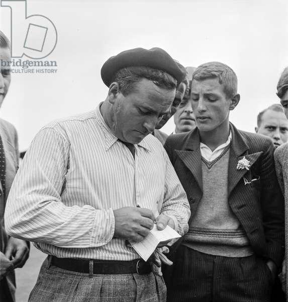 Switzerland Golf Championship, 1936 (b/w photo)
