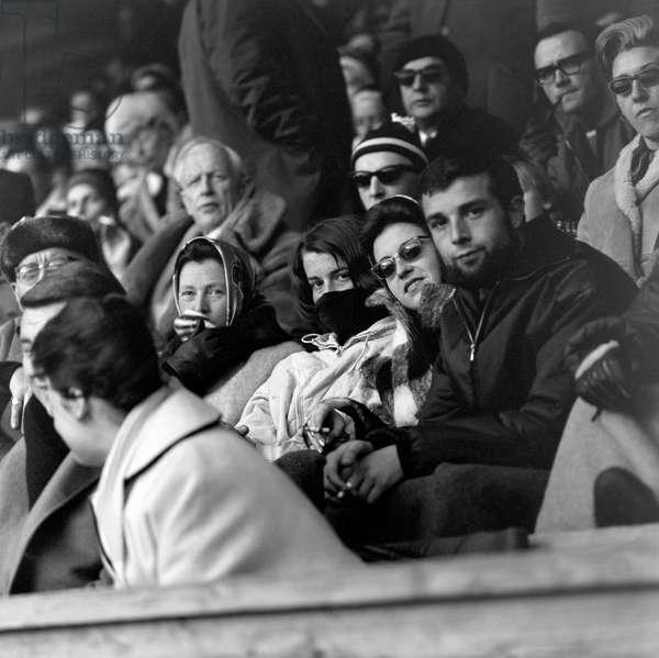 Spengler Cup, 1963 (b/w photo)