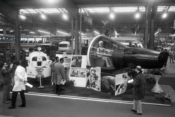 Switzerland 38th Geneva Motor Show, 1968 (b/w photo)