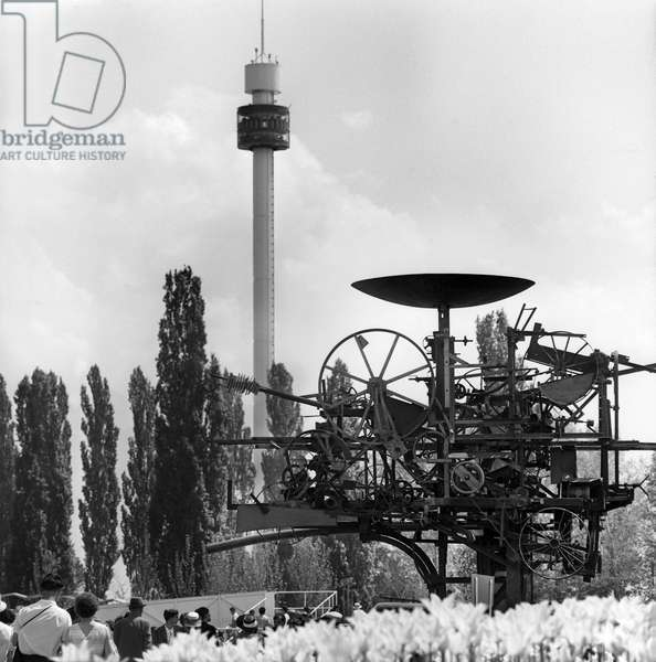 Switzerland Expo64 'Eureka' (b/w photo)
