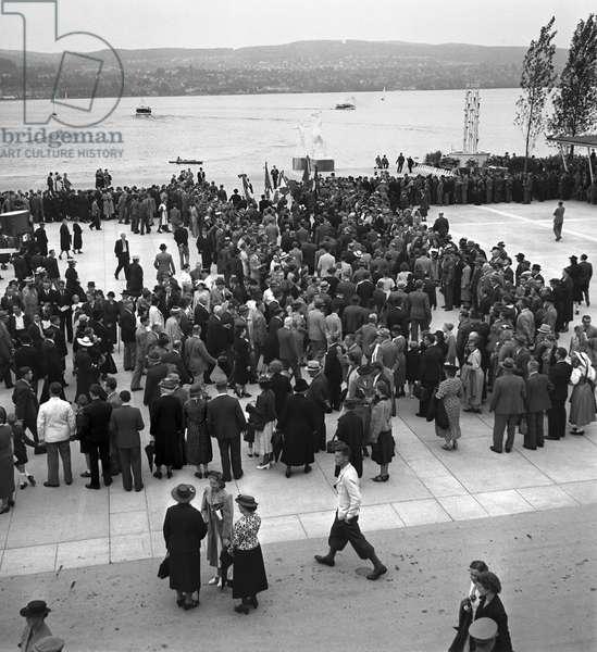 Switzerland Landi, 1939 (b/w photo)