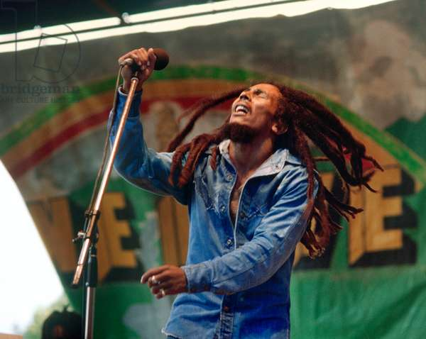 Bob Marley Concert the April 1979 in Auckland, New Zealand