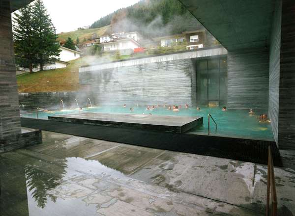 The thermal baths of Vals