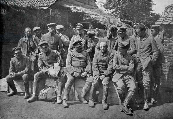 Switzerland First World War, 1915 (b/w photo)