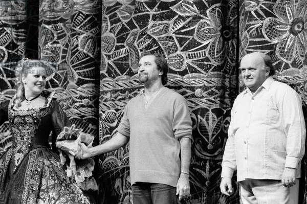 Switzerland Music Horst Stein, 1980 (b/w photo)