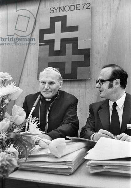 Switzerland Conference Synodal 72 (b/w photo)