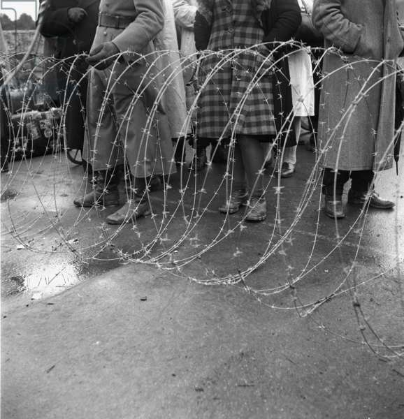 Switzerland Second World War Refugees, 1945 (b/w photo)