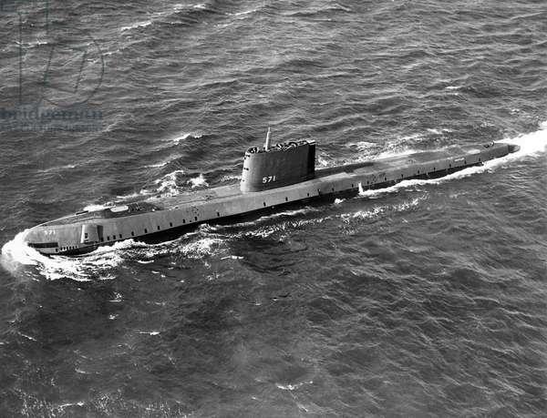 The submarine Nautilus