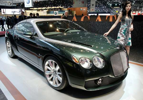 Voiture Bentley