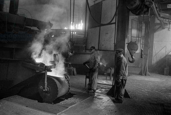 Switzerland Rieter Machine Factory, 1970 (b/w photo)