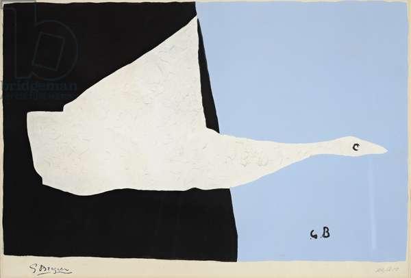 Le Cygne Volant, late 1950s (print)