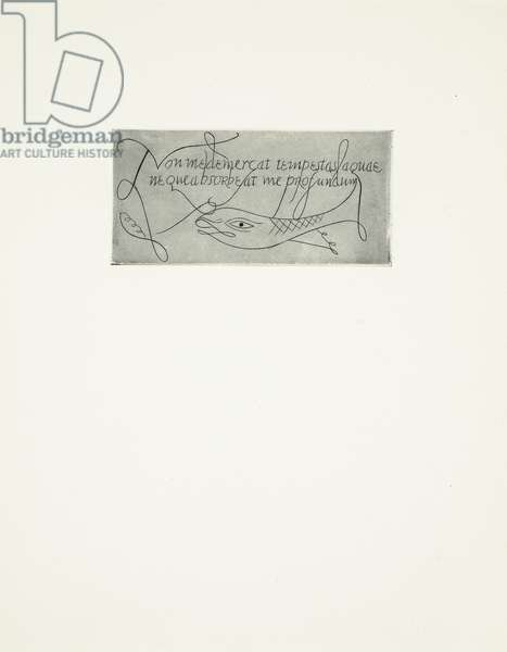 Tailpiece for 'Rimes of the Ancient Mariner', 1928 (print)