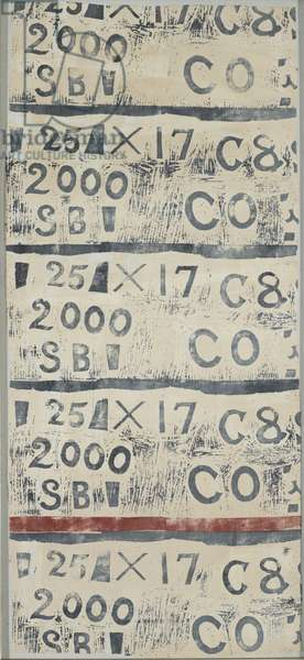 Letters and Numbers, 1933 (circa) (textiles carpets)