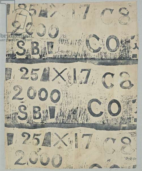 Letters and Numbers, 1934 (circa) (textiles carpets)