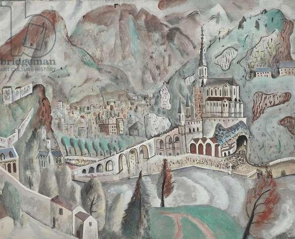 Lourdes, 1928 (drawing)