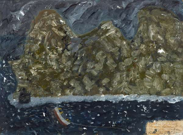Mr John Gallagher the Best Climber, 1966 (painting)