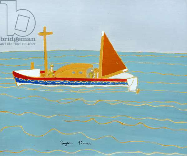 Lifeboat - St. Ives, 1965 (painting)