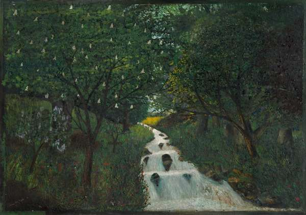 Waterfall in the Glen,  (painting)