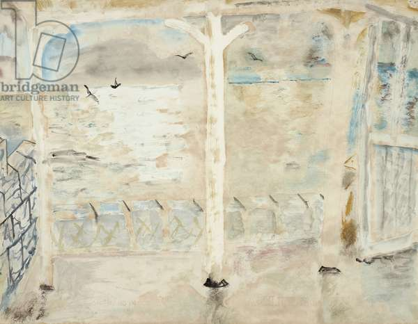 Seascape from a Terrace, 1929 (drawing)