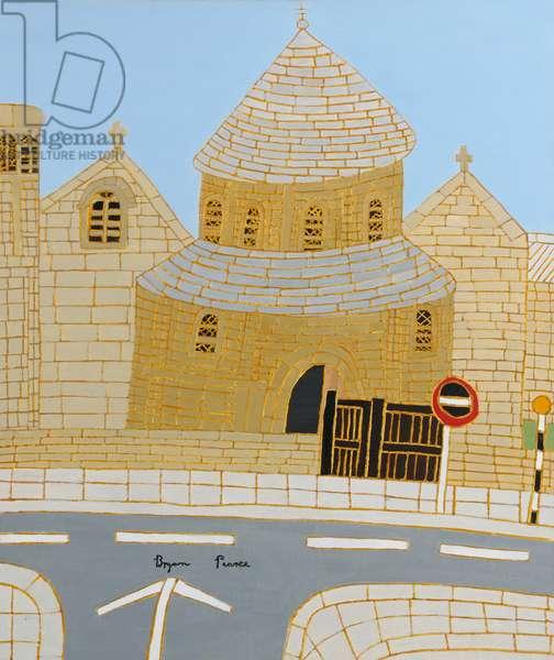 The Round Church, 1966 (circa) (painting)