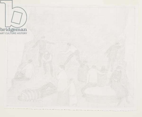 Study from 'The House', 1990 (circa) (drawing)