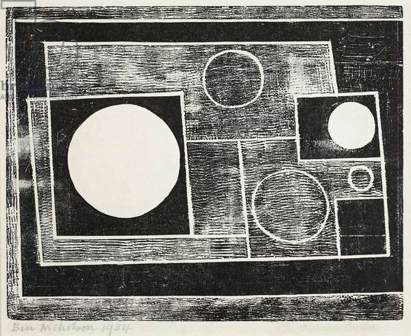 Abstract design, 1934 (print)