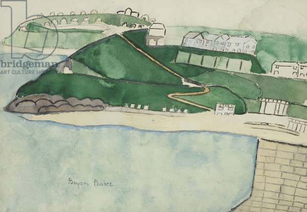 St. Ives, 1956 (circa) (drawing)