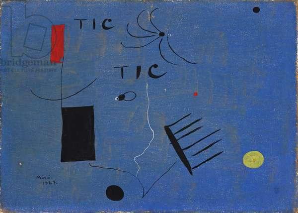 Tic Tic, 1927 (painting)