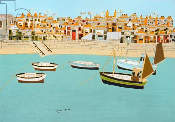 St. Ives Harbour, n.d. (painting)