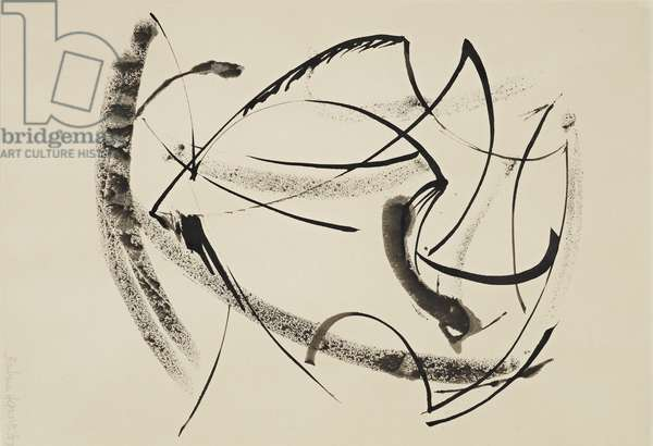 Turning Form, 1957 (drawing)