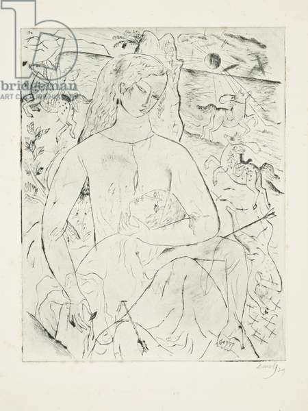 Wounded Knight, 1929 (print)
