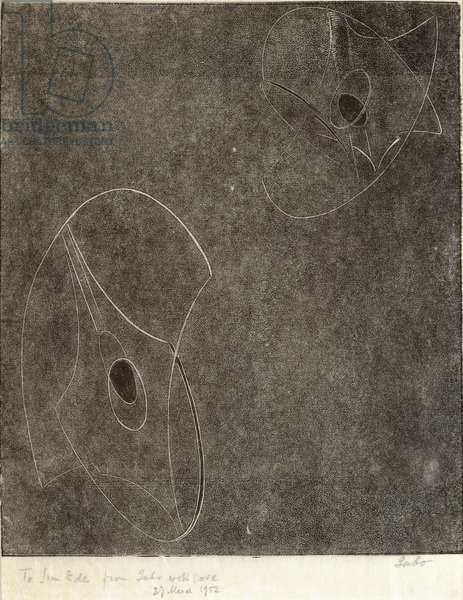 Opus 5 (aka The Constellations, or Design), 1950 (print)