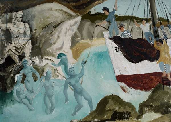 Ulysses and the Sirens (or Mermaids), 1929 (painting)