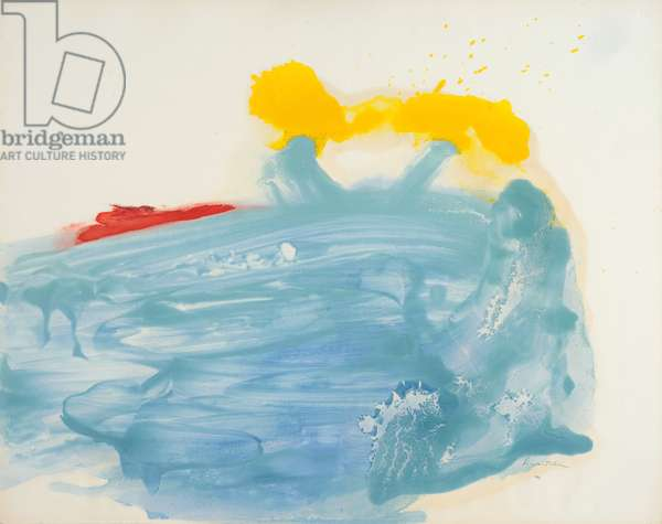 Abstract, 1960-61 (circa) (painting)