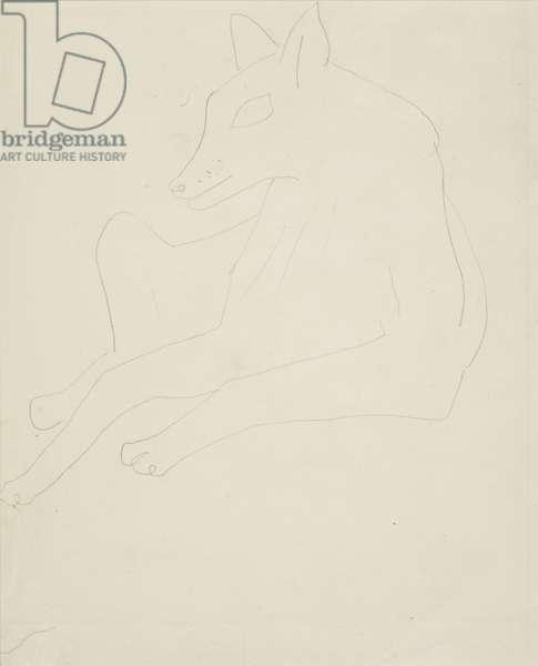 Animal, 1928 (?) (drawing)