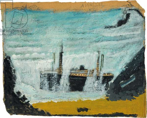 Shipwreck 1 - The Wreck of the Alba, 1938-40 (painting)